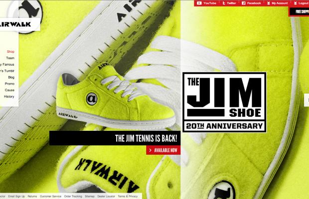 Airwalk Jim Shoe Re-Release 2014